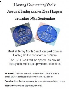 Tenby walk sept 17
